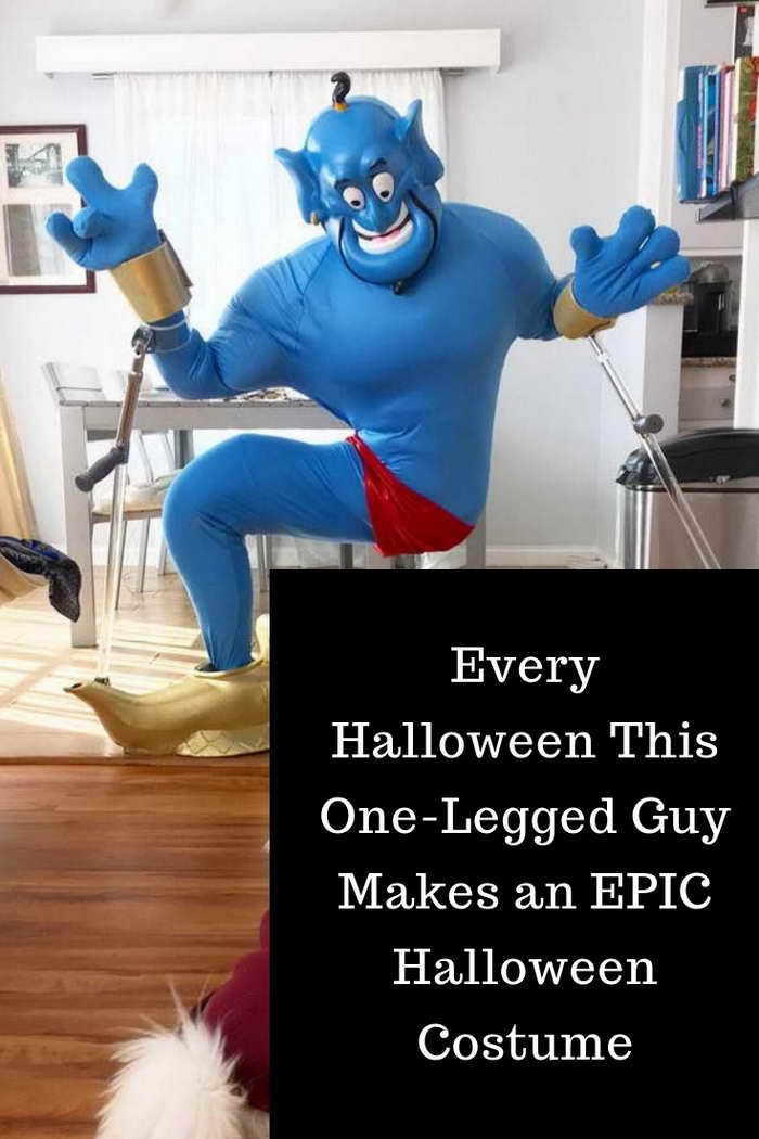 d78df93f Every Halloween This One-Legged Guy Makes an EPIC Halloween Costume